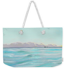 Looking South Tryptic Part 2 Weekender Tote Bag