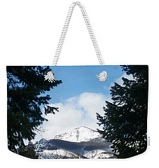 Looking Through Weekender Tote Bag by Jewel Hengen