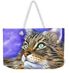 Looking To The Rainbow Bridge Weekender Tote Bag