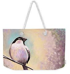 Look Toward The Light Weekender Tote Bag