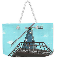 Looking Up At A Windmill Weekender Tote Bag