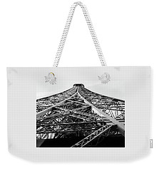 Looking Up From The Eiffel Tower Weekender Tote Bag