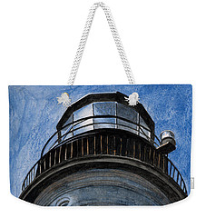 Looking Up Portland Head Light Weekender Tote Bag