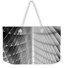 Weekender Tote Bag featuring the photograph Looking Up by Steven Santamour
