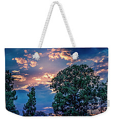 Looking West At Sunset Weekender Tote Bag