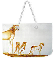 Lookout Post - Original Artwork Weekender Tote Bag