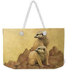 Lookouts Weekender Tote Bag by James W Johnson