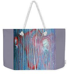 Looks Like A Steer In The Headlights Weekender Tote Bag by Lenore Senior