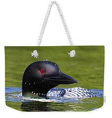 Loon Droplets Weekender Tote Bag
