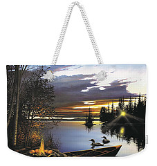 Loon Lake Weekender Tote Bag