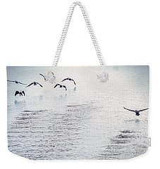 Weekender Tote Bag featuring the photograph Looner Liftoff by Kendall McKernon