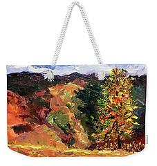 Loose Landscape Weekender Tote Bag by Janet Garcia