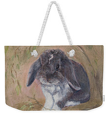 Lop Eared Rabbit- Socks Weekender Tote Bag