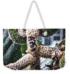 Loquat Man Photo Weekender Tote Bag by Gina O'Brien