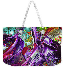 Lord Of The Rings Art - Colorful Modern Abstract Painting Weekender Tote Bag