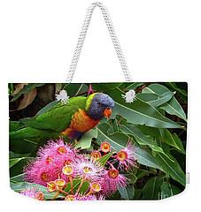 Lorikeet Weekender Tote Bag