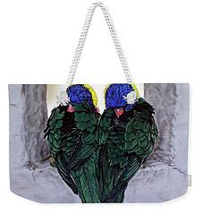 Lorikeets Weekender Tote Bag
