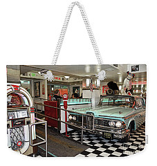Loris Diner In San Francisco Weekender Tote Bag