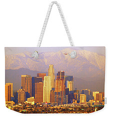 Los Angeles And The San Gabriel Mountains Weekender Tote Bag