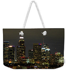 Los Angeles City Lights Weekender Tote Bag