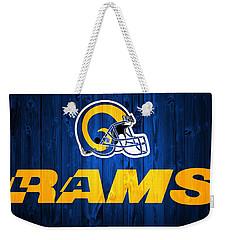 Los Angeles Rams Barn Door Weekender Tote Bag