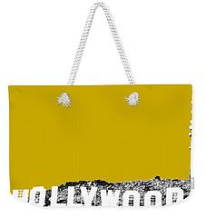 Los Angeles Skyline Hollywood - Gold Weekender Tote Bag