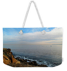 Weekender Tote Bag featuring the photograph Los Angeles Sunset by Joan  Minchak