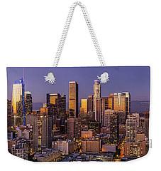 Los Angeles Twilight Panorama Weekender Tote Bag