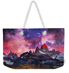 Los Glaciares National Park, Argentina Weekender Tote Bag