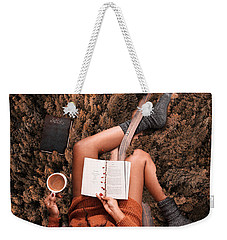 Lose Yourself In A Good Book Weekender Tote Bag