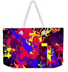 Loss Of Equilibrium Weekender Tote Bag