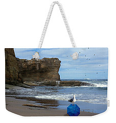 Lost And Found Weekender Tote Bag by Diane Schuster