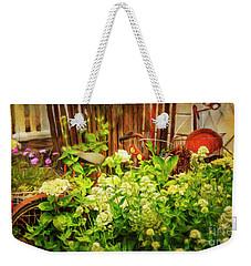 Lost Bicycle Of Flowers Weekender Tote Bag