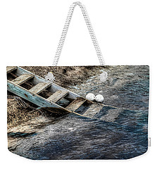 Weekender Tote Bag featuring the photograph Lost Boys by Wayne Sherriff