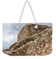 Weekender Tote Bag featuring the photograph Lost Civilization by Phyllis Denton