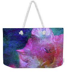 Lost Gladiolus Blossom 3018 L_2 Weekender Tote Bag