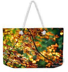 Lost In Leaves Weekender Tote Bag by Kathy McClure