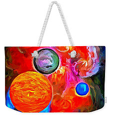 Lost In Space - Near The Sun Weekender Tote Bag