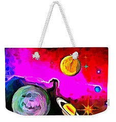 Lost In Space - Nebula 1 Weekender Tote Bag