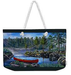 Lost In The Boundary Waters Weekender Tote Bag