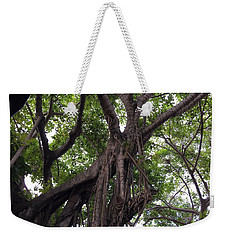 Lost In The Branches Weekender Tote Bag by Val Oconnor