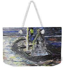 Lost In The Dark Abstract Weekender Tote Bag