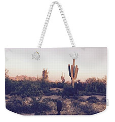 Lost In The Desert Weekender Tote Bag