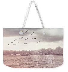 Lost In The Fields Of Time Weekender Tote Bag