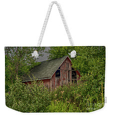 Weekender Tote Bag featuring the photograph Lost In The Woods by JRP Photography