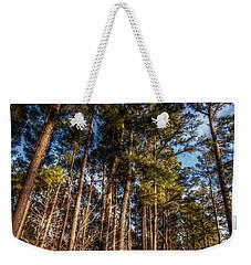 Lost In The Woods Weekender Tote Bag by Linda Unger