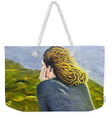 Lost In Thought Weekender Tote Bag by Karyn Robinson