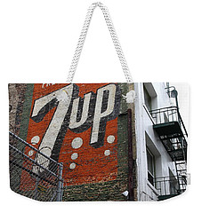 Lost In Urban America - El Rosa Hotel - Tenderloin District - San Francisco California - 5d19351 Weekender Tote Bag