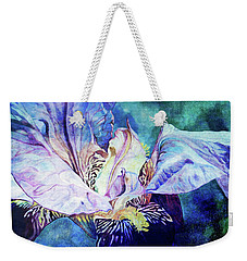Lost Iris Passion 93 L_2 Weekender Tote Bag