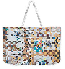 Weekender Tote Bag featuring the mixed media Lost by Jan Bickerton